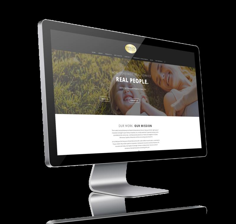 Picture of Hanlon and Associates website