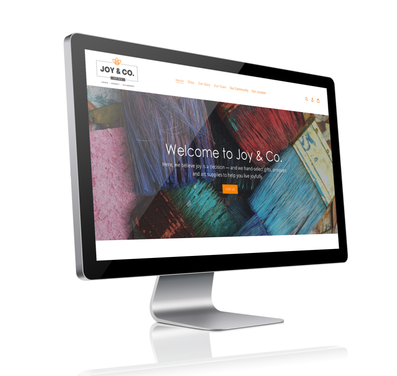 Picture of Joy & Co., Grand Marais MN website