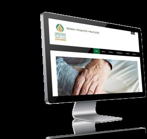 Picture of Limestone Health Care website