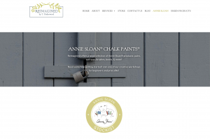 Picture of Reimagined by T. Underwood Annie Sloan® chalk paints® webpage