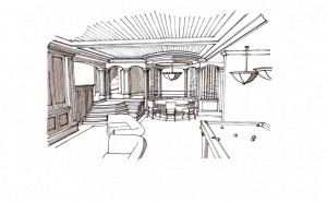 Picture of sketch by TAP Architecture