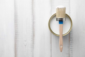 Picture of paint tin and brush