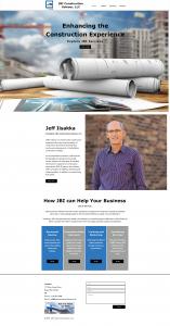 Picture of JBI Construction Advisers, LLC website