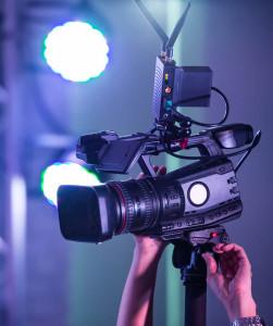 professional video camera equipment